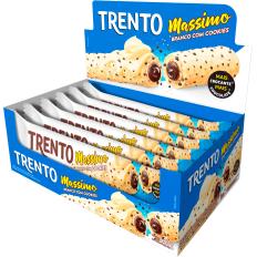Trento Massimo Branco Com Cookies 480g (16un x 30g)