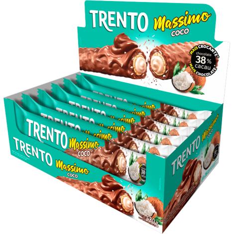 Trento Massimo Coco Ao Leite  480g (16un x 30g)