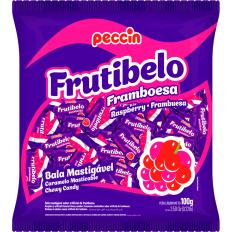 Bala Frutibelo Framboesa 100g