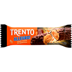 Trento Allegro Chocolate Dark C/ Amendoim 35g