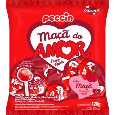 Pirulito Maçã Do Amor 120g