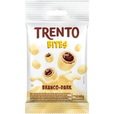 Trento Bites Branco Dark 40g