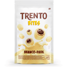 Trento Bites Branco Dark Stand Up Pouch 120g