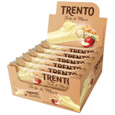 Trento Torta De Maça 512g (16un x 32g)