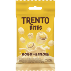 Trento Bites Mousse de Maracujá 40g