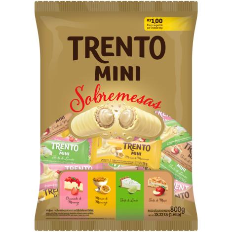 Trento Mini Sobremesa 800g