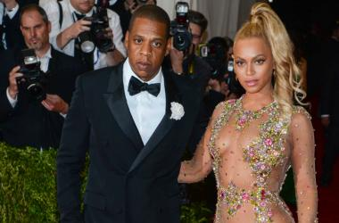 Beyonce and Jay-Z arrive at the 2015 Costume Institute Gala Benefit celebrating 'China: Through The Looking Glass' held at the Metropolitan Museum Of Art in New York, NY on May 4th, 2015.