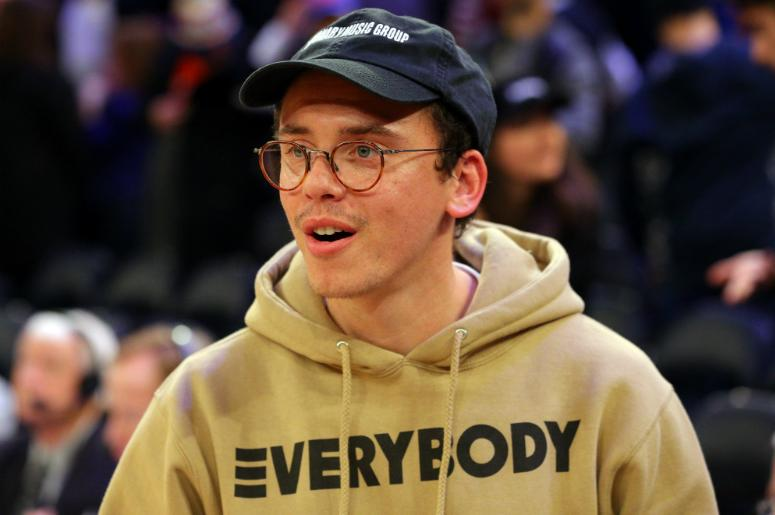 Logic after a game between the New York Knicks and the Sacramento Kings at Madison Square Garden.