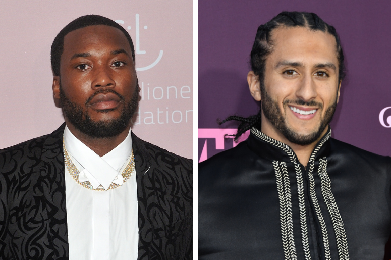 "Musician Meek Mill attends Rihanna's 4th Annual Diamond Ball at Cipriani Wall Street in New York, NY on September 13, 2018. /  Colin Kaepernick. VH1's 3rd Annual ""Dear Mama: A Love Letter to Moms"" held at The Theatre at ACE Hotel."