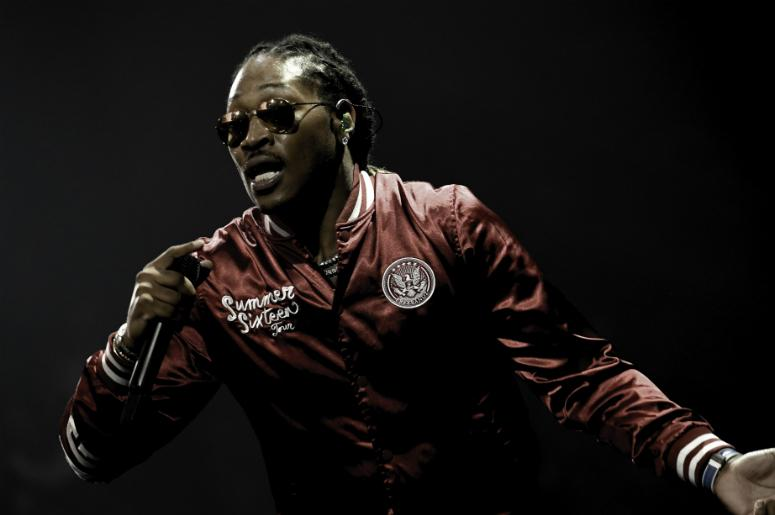 Future performs at American Airlines Arena.