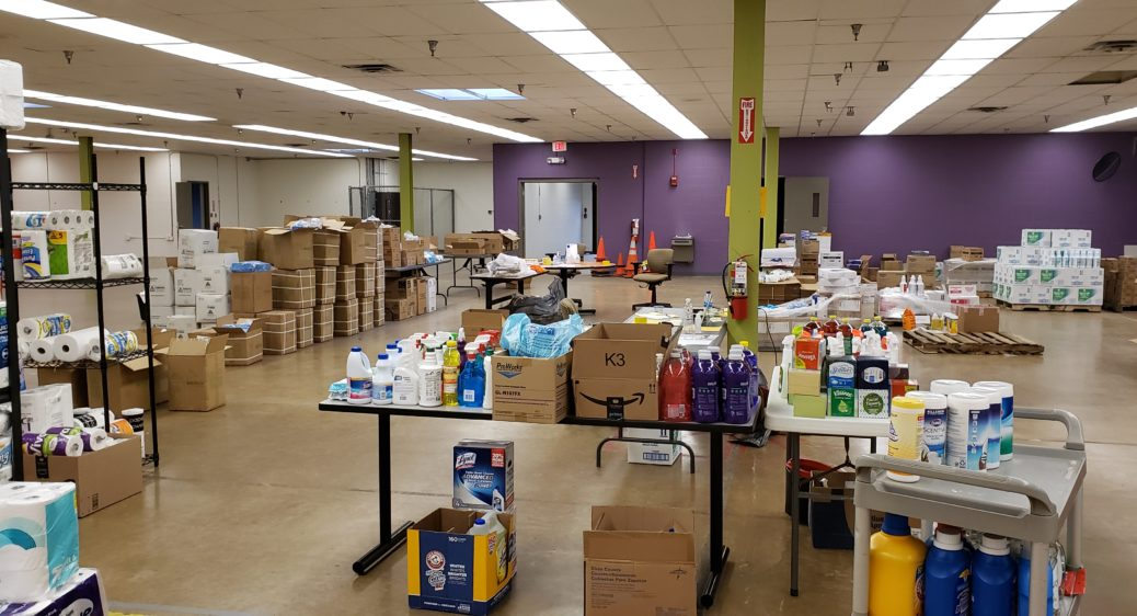 Tables of critical cleaning supplies for DSPs