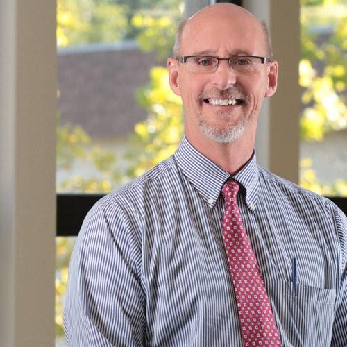 Superintendent John Trunk smiling