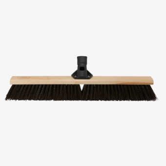 24 in. Rough Surface Push Broom - Premium