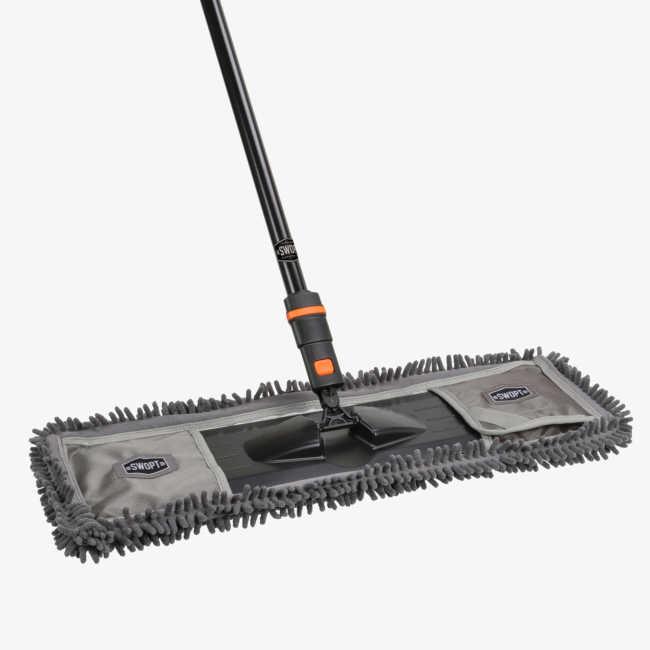 SWOPT Cleaning | 24 in. Microfiber Dust Mop Combo