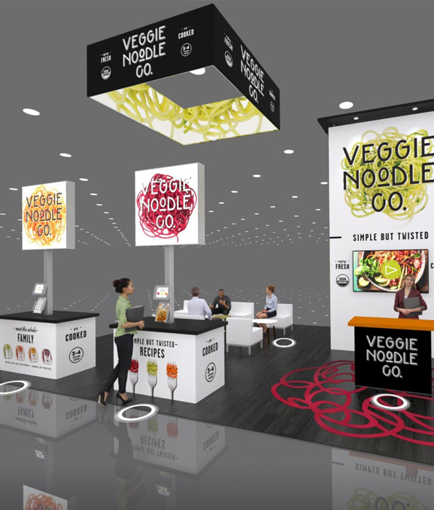 Rogers offers virtual trade show exhibits to stay infront of your clients.