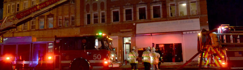 22 People Displaced After Fire Sparks In A Far South Side Basement