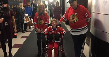 Chicago Blackhawks Grant 12-Year-Old Boy's Wish