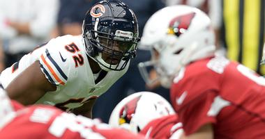 Khalil Mack, Allen Robinson Off Injury Report; Bears Rule Out Dion Sims