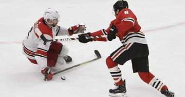 Aho Lifts Hurricanes Over Blackhawks 3-2