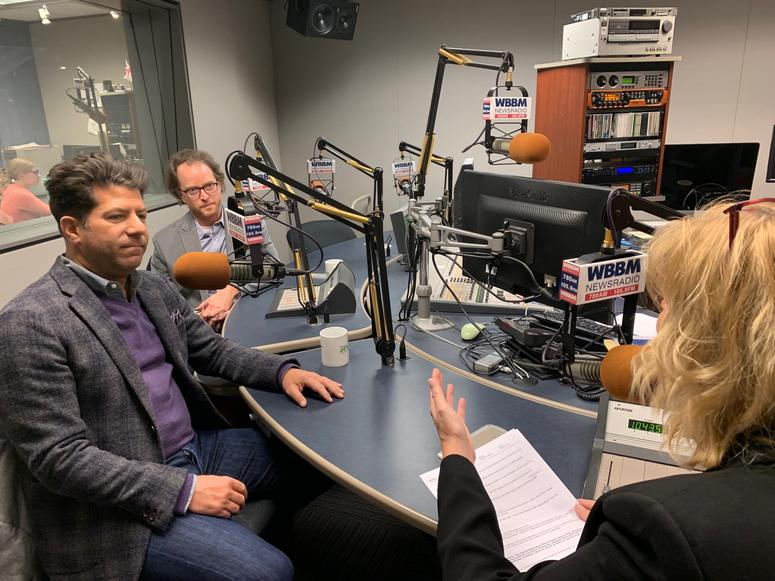 Jason Erkes, Chief Communications Officer, Cresco Labs and John Sullivan, Senior  Vice President Cresco Labs, MedMar Executive Vice President with WBBM Newsradio's Lisa Fielding on At Issue