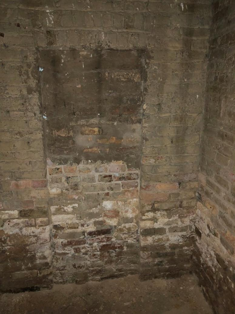 "The latest ""secret"" has to do with a bricked over doorway found in the basement in November."