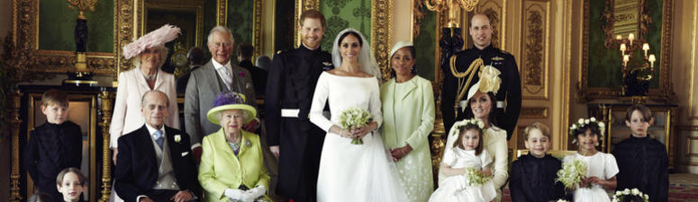 Palace Shares Family Portrait And Other Royal Wedding Photos