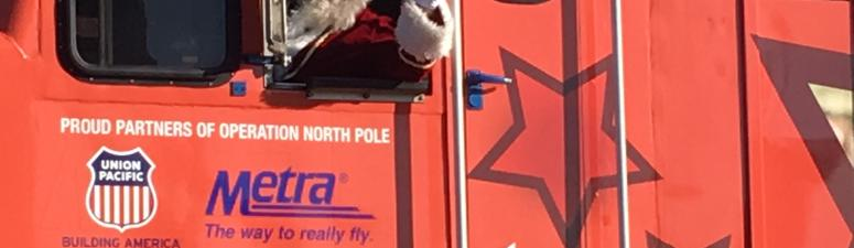 Operation North Pole Takes Children On A Fantasy Train Ride For The Holiday