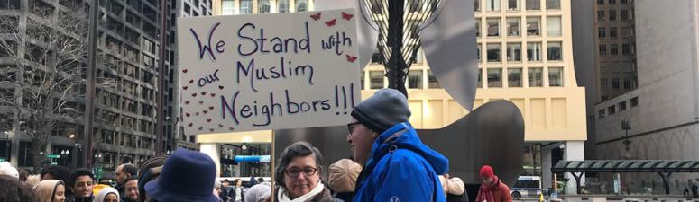Chicago Vigil Honors Muslims Killed In New Zealand