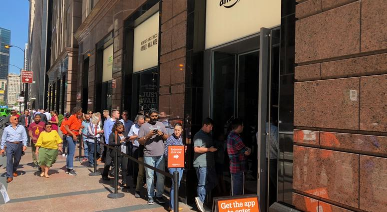 Chicago Amazon Go Store Opens