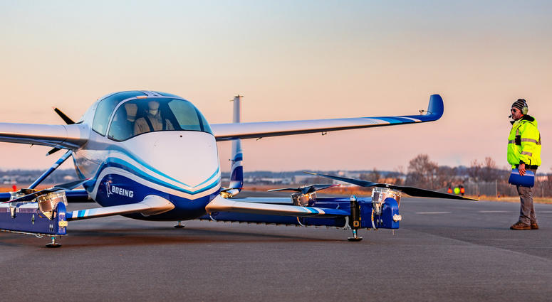 WATCH Boeing's Flying 'Car' Takes Its First Flight