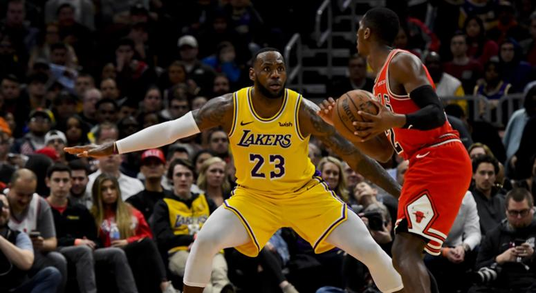 Image result for Lakers vs the bulls 3/13/19