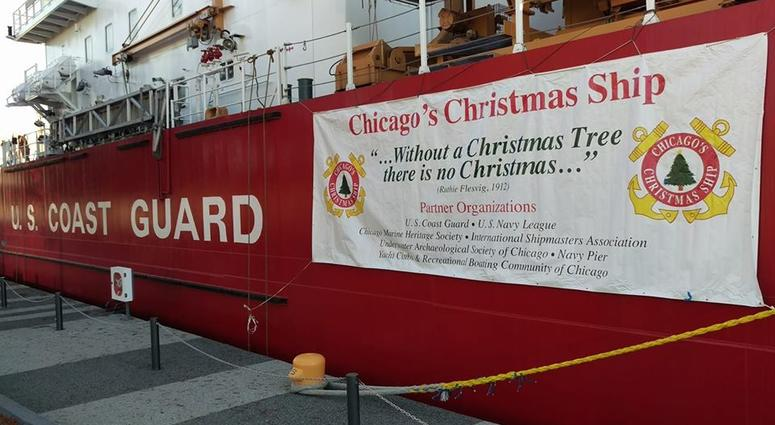 The U.S. Coast Guard Christmas Ship