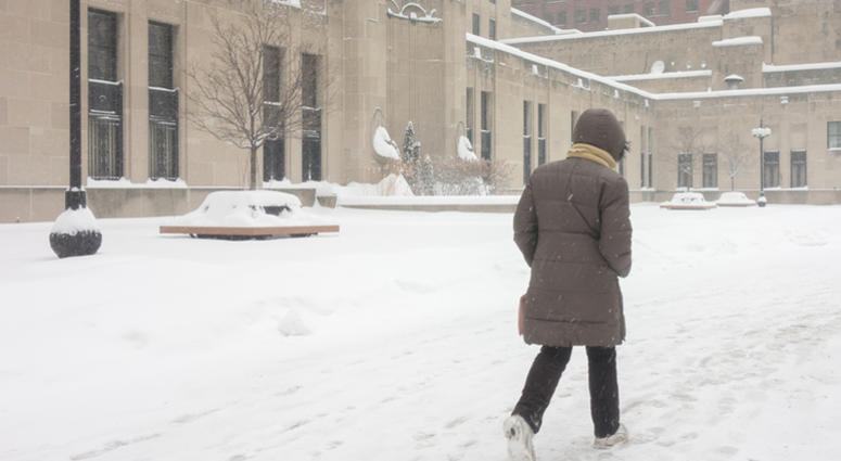 After Snowstorm, Bitter Cold Sets In Across Country