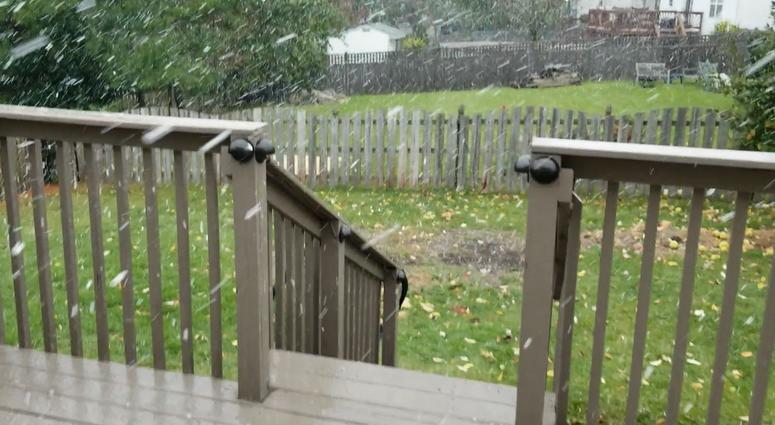 Power Outages Follow Wind Gusts; Some Areas Hit With Brief Snow