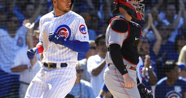 Bases-Loaded Walk In 10th Gives Cubs Win Over Reds