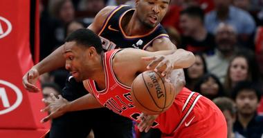 Bulls Stop 4-Game Slide With Win Over Suns