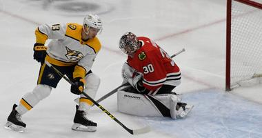 Blackhawks Beat Predators As Cam Ward Makes 30 Saves