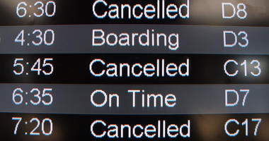 Hundreds Of Flights Canceled At O'Hare Due To East Coast Storms