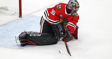 Corey Crawford's Return Spoiled By Coyotes