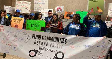 Ahead of busy City Council meeting, community groups protest expected votes is issues like a Police & Fire Training Academy, the Lincoln Yards Development and a warehouse project in Little Village.