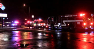 Dolton police are investigating a hit and run at Sibley Blvd. and Evers Ave. at 2:15am Saturday morning.