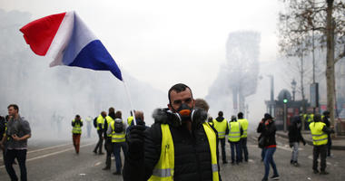 France yellow vest demonstrations