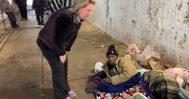 Woman Who Helps The Homeless: 'Why Wouldn't I?'