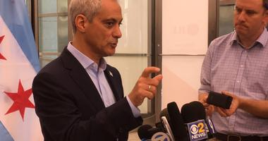 Emanuel On Trump: We're Not At Impeachment Stage