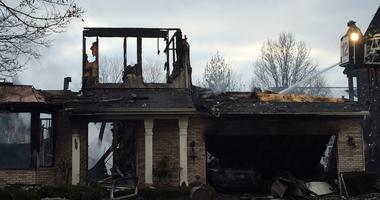 Extra-Alarm Fire Damages Multiple Homes In Northbrook