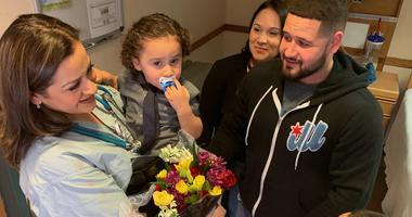 Chicago Mother Reunites With Delivery Nurse Who Saved Her Newborn's Life 3 Years Ago