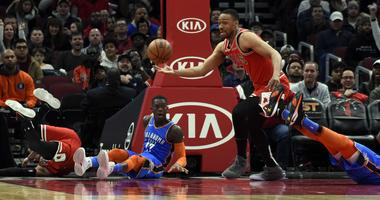 Bulls Edge Thunder, In New Chicago Coach's First Win