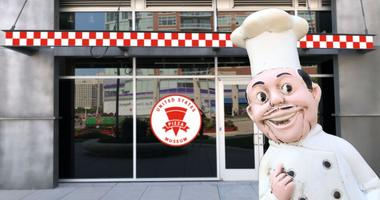 U.S. Pizza Museum In Chicago's Roosevelt Collection shops.
