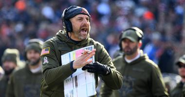 Bears Coach Matt Nagy Discusses Win Over Lions, Parkey Mistakes, Upcoming Vikings Game