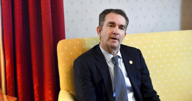 "Virginia Gov. Ralph Northam talks during an interview at the Governor's Mansion, Saturday, Feb. 9, 2019 in Richmond, Va. The embattled governor says he wants to spend the remaining three years of his term pursuing racial ""equity."